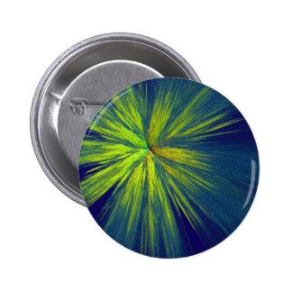 Yellow splash pinback button