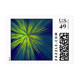 Yellow splash stamp