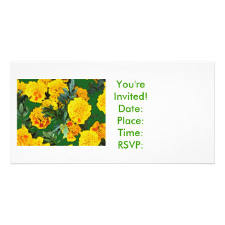 Yellow Splash, You're Invited!Date:Place:Time:R... Card