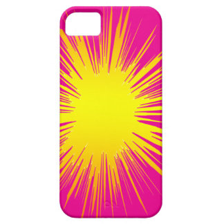 Yellow Splat I-PHONE cover. iPhone SE/5/5s Case