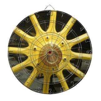 Yellow Spokes Dart Board