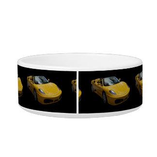 Yellow Sports Car Bowl