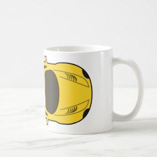 Yellow Sports Car Coffee Mug