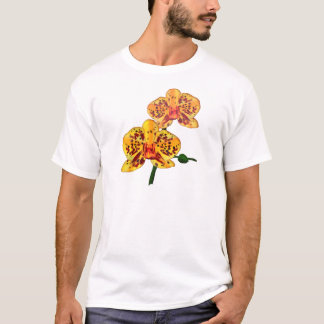 Yellow Spotted Phalaenopsis Orchid T-Shirt