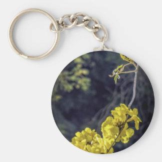 Yellow Spring Bloom Keychain