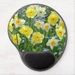 Yellow spring daffodils gel mousepad