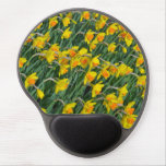Yellow spring daffodils mousepad gel mouse pad