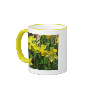 Yellow Spring Daffodils Mugs