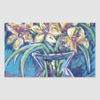 yellow spring daffodils stickers