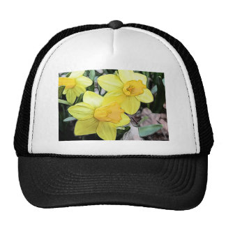 Yellow Spring Daffodils Trucker Hat
