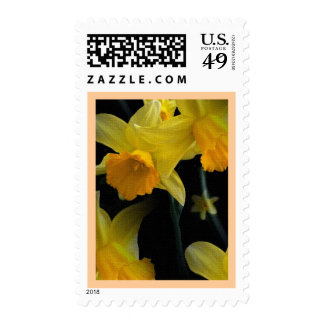 Yellow Spring Floral Postage