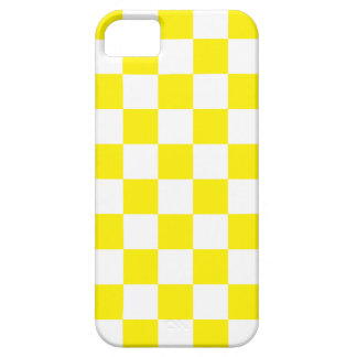 Yellow Square Pattern iPhone 5 Case