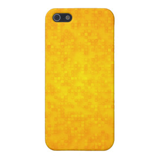 Yellow Squares Abstract Case For iPhone 5