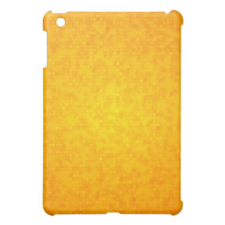Yellow Squares Abstract iPad Mini Cases