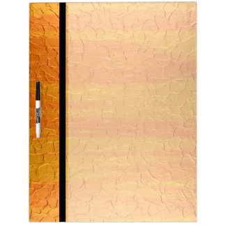 Yellow Stainless Steel Metal Dry Erase Board