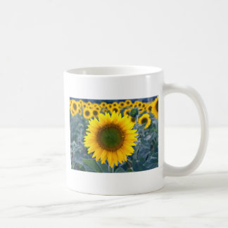 yellow Stand out from the crowd flowers Coffee Mug
