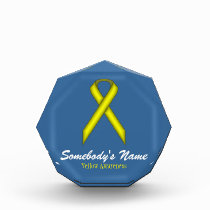 Yellow Standard Ribbon Award