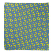 Yellow Standard Ribbon by Kenneth Yoncich Bandana