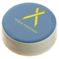 Yellow Standard Ribbon by Kenneth Yoncich Chocolate Dipped Oreo
