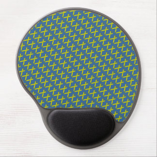 Yellow Standard Ribbon by Kenneth Yoncich Gel Mouse Pad