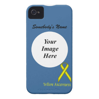 Yellow Standard Ribbon by Kenneth Yoncich iPhone 4 Case-Mate Case