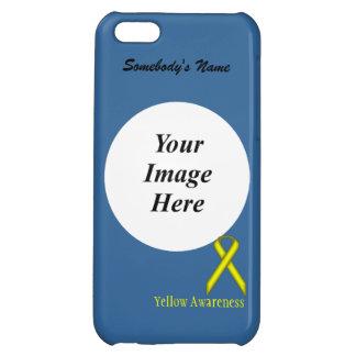 Yellow Standard Ribbon by Kenneth Yoncich iPhone 5C Cover