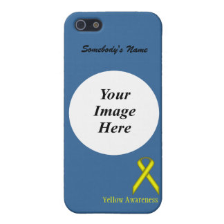 Yellow Standard Ribbon by Kenneth Yoncich iPhone SE/5/5s Cover