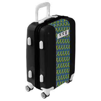 Yellow Standard Ribbon by Kenneth Yoncich Luggage