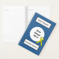Yellow Standard Ribbon by Kenneth Yoncich Planner