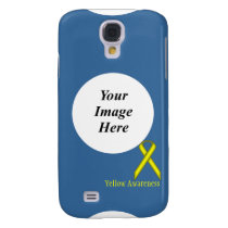 Yellow Standard Ribbon by Kenneth Yoncich Samsung Galaxy S4 Cover