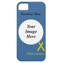 Yellow Standard Ribbon by Kennth Yoncich iPhone SE/5/5s Case