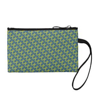 Yellow Standard Ribbon Change Purse
