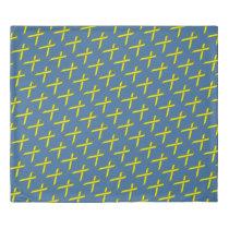 Yellow Standard Ribbon Duvet Cover