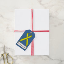 Yellow Standard Ribbon Gift Tags