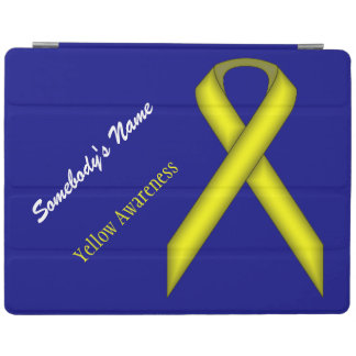 Yellow Standard Ribbon iPad Cover