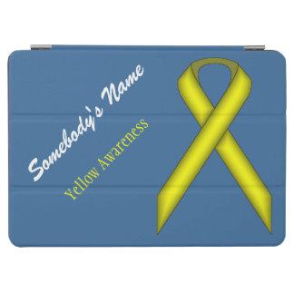 Yellow Standard Ribbon iPad Air Cover