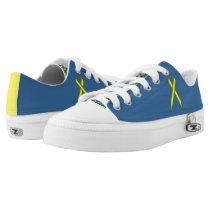 Yellow Standard Ribbon Low-Top Sneakers