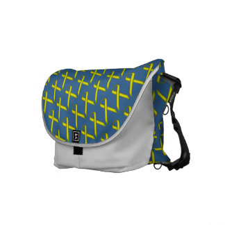 Yellow Standard Ribbon Messenger Bag
