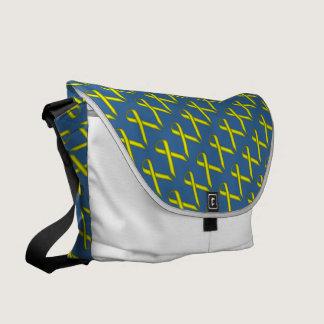 Yellow Standard Ribbon Messenger Bag