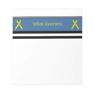 Yellow Standard Ribbon Notepad