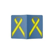 Yellow Standard Ribbon Passport Holder