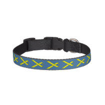 Yellow Standard Ribbon Pet Collar