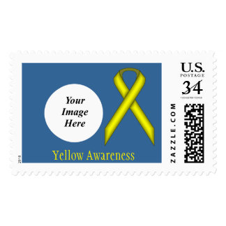 Yellow Standard Ribbon Postage
