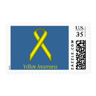 Yellow Standard Ribbon Postage