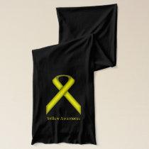 Yellow Standard Ribbon Scarf