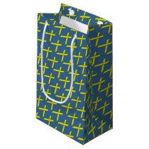 Yellow Standard Ribbon Small Gift Bag
