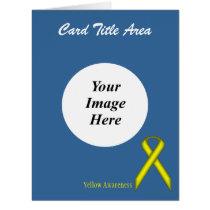 Yellow Standard Ribbon Template
