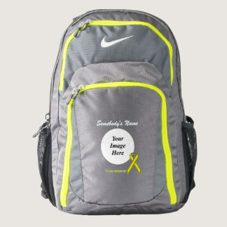 Yellow Standard Ribbon Template Backpack