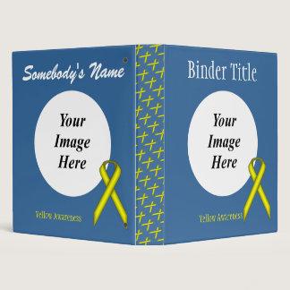 Yellow Standard Ribbon Template Binder