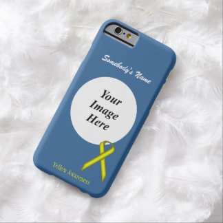 Yellow Standard Ribbon Template by Kenneth Yoncich Barely There iPhone 6 Case